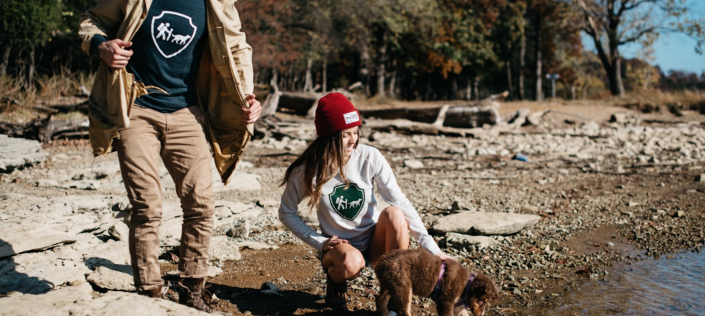 Camping With Dogs product photography