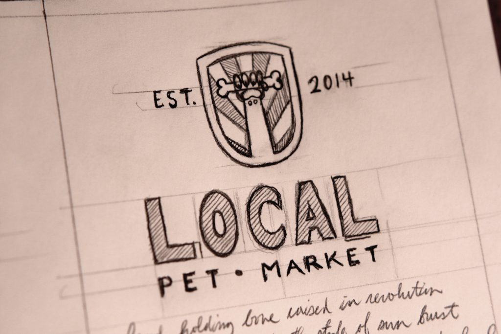 Local Pet Market Logo