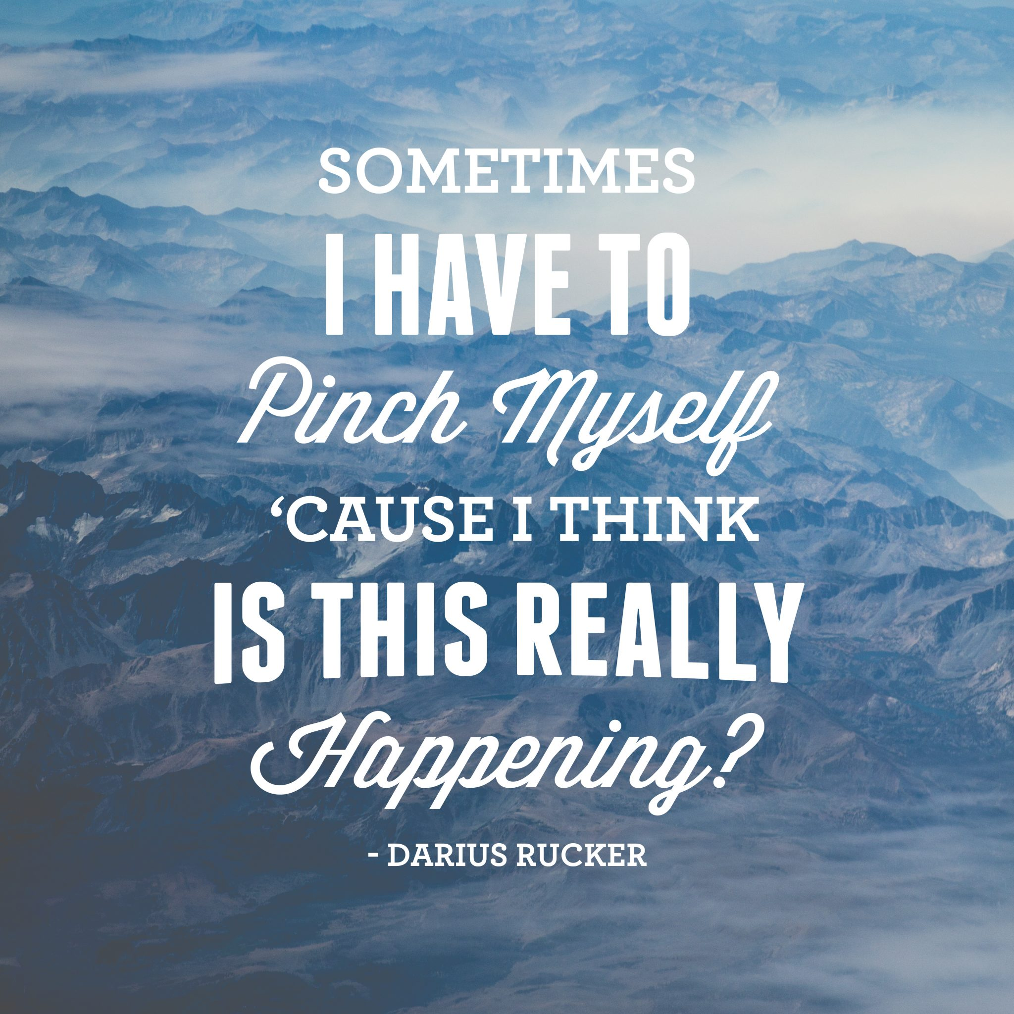 creative social media campaign - darius-rucker-quote