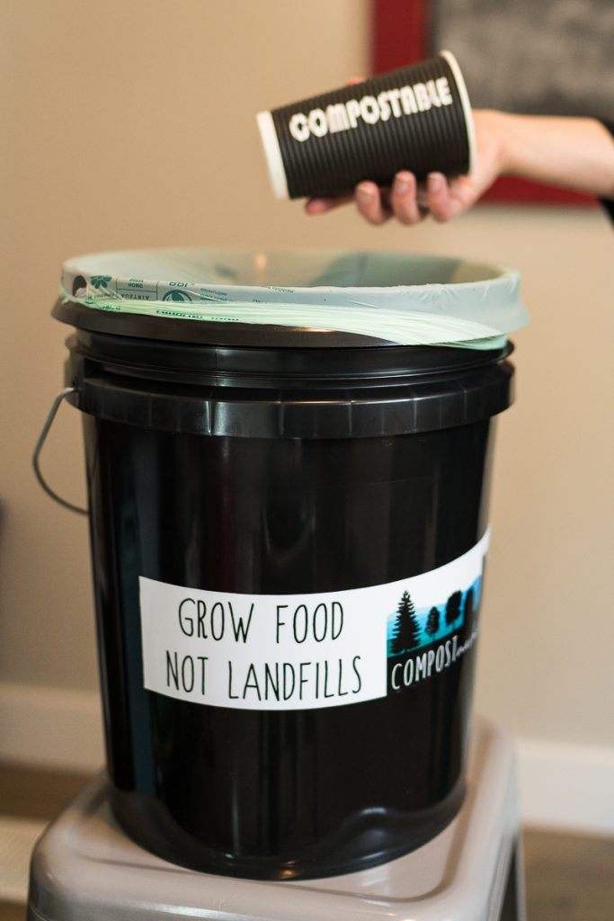 composting at an office