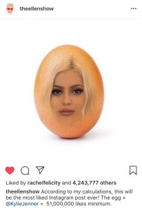 Ellen's response to the World Record Egg.