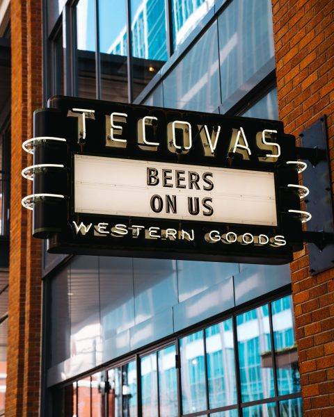 Image of Tecovas storefront at Fifth + Broadway.